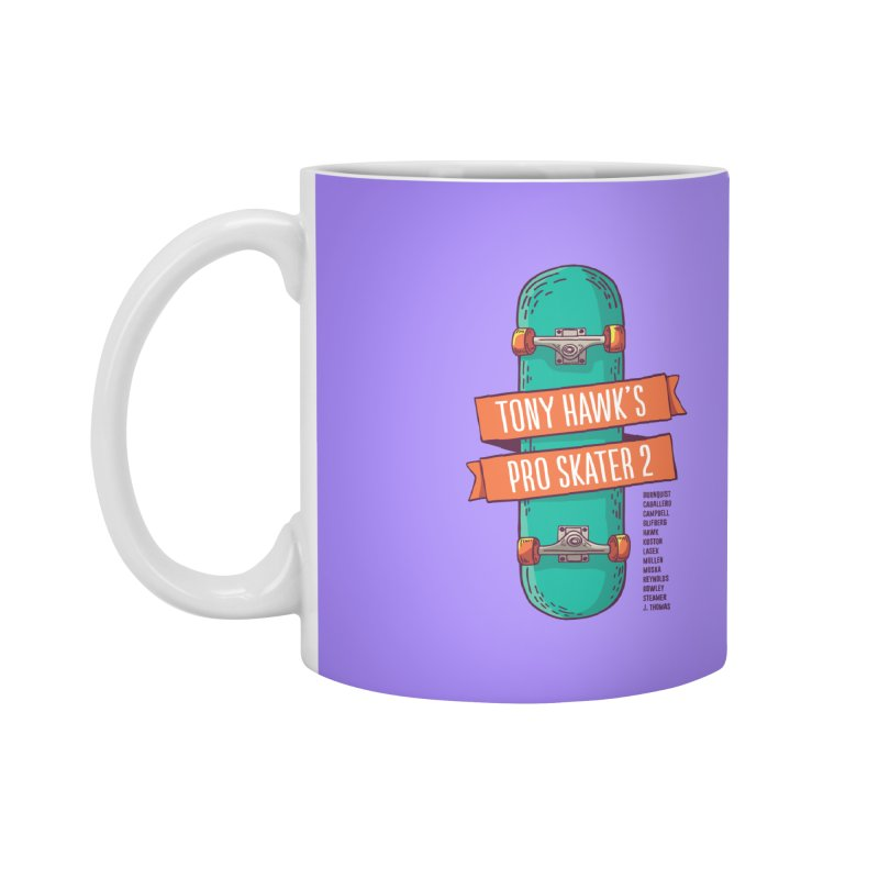 Tony Hawk's Pro Skater 2 Accessories Mug by tulleceria