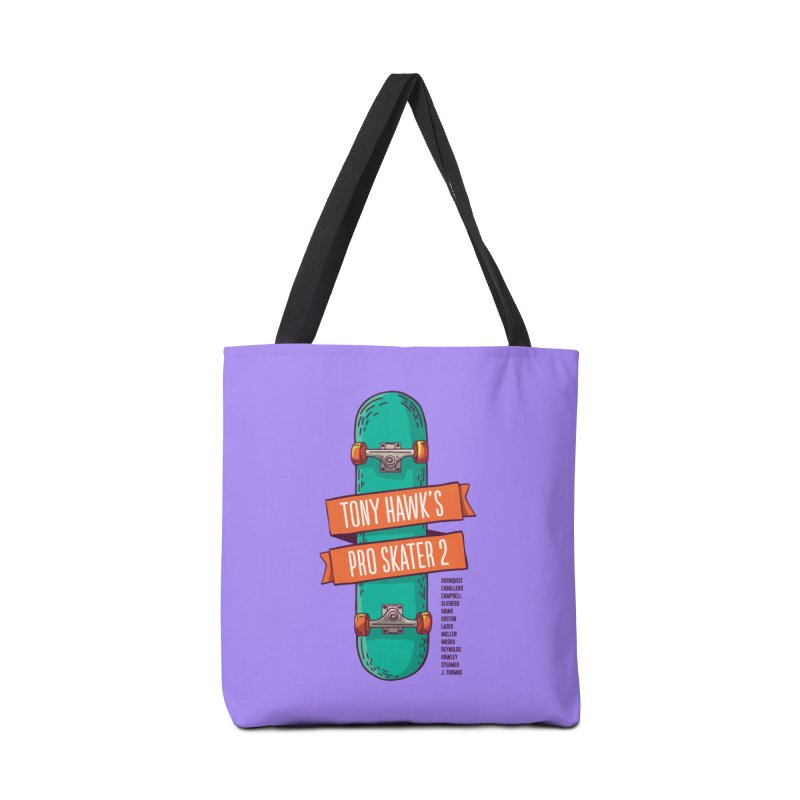Tony Hawk's Pro Skater 2 Accessories Tote Bag Bag by tulleceria