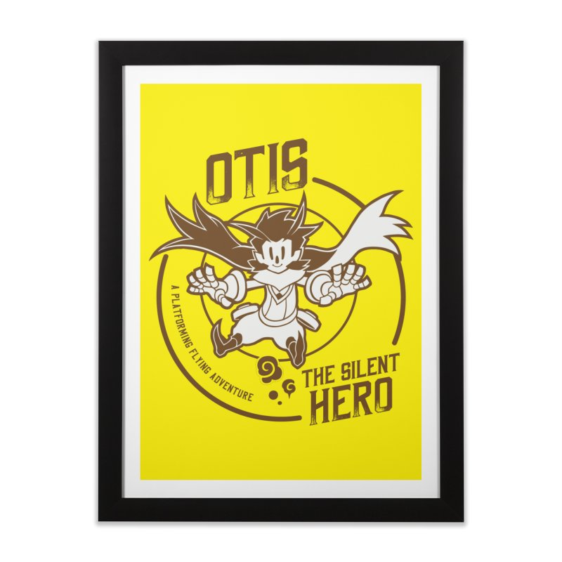 Owlboy Home Framed Fine Art Print by tulleceria