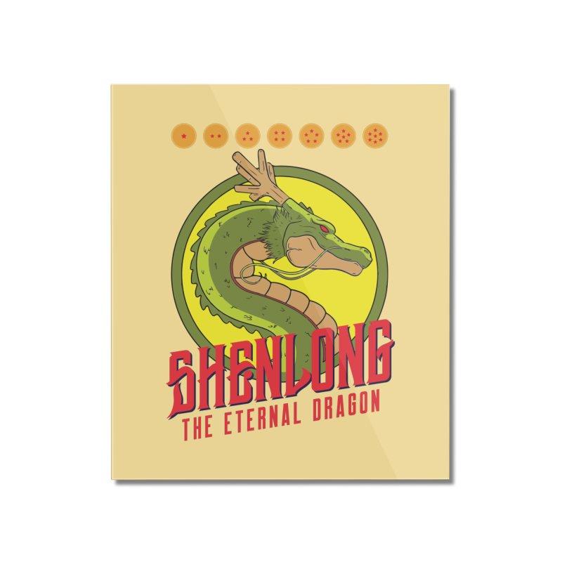 Dragon Ball Z Shenlong Home Mounted Acrylic Print by tulleceria