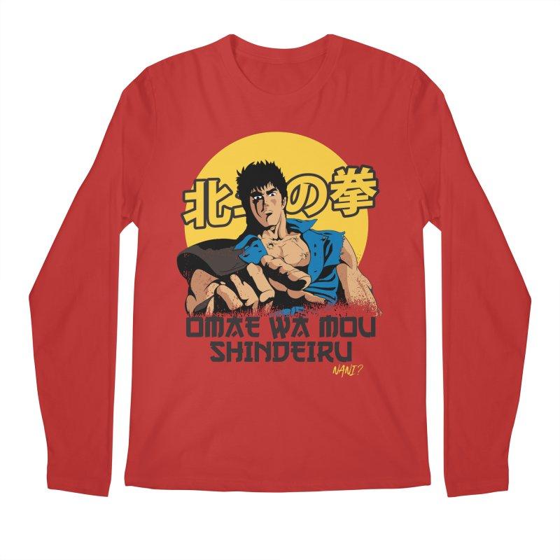 Hokuto no Ken Men's Longsleeve T-Shirt by tulleceria