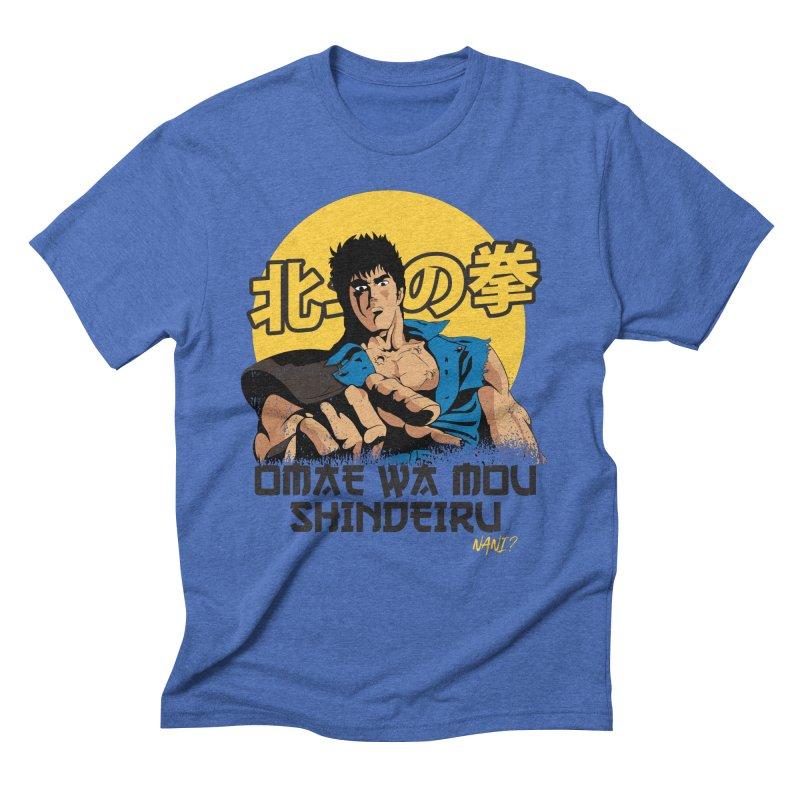 Hokuto no Ken Men's Triblend T-Shirt by tulleceria