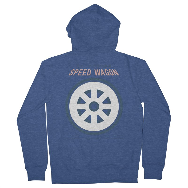 Jojo's Bizarre Adventure Speed Wagon Women's Zip-Up Hoody by tulleceria