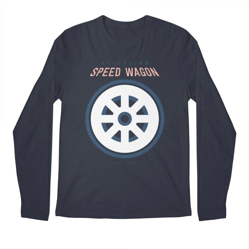 Jojo's Bizarre Adventure Speed Wagon Men's Longsleeve T-Shirt by tulleceria