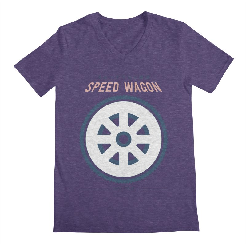Jojo's Bizarre Adventure Speed Wagon Men's V-Neck by tulleceria