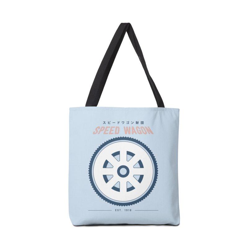 Jojo's Bizarre Adventure Speed Wagon Accessories Bag by tulleceria