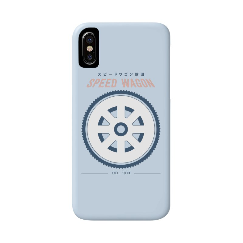 Jojo's Bizarre Adventure Speed Wagon Accessories Phone Case by tulleceria