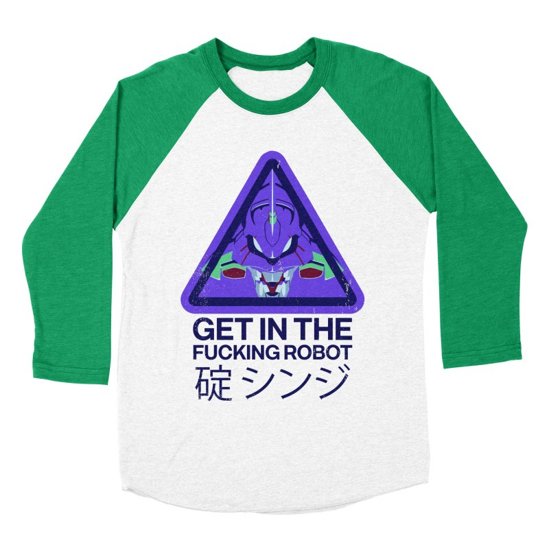 Evangelion Women's Baseball Triblend T-Shirt by tulleceria