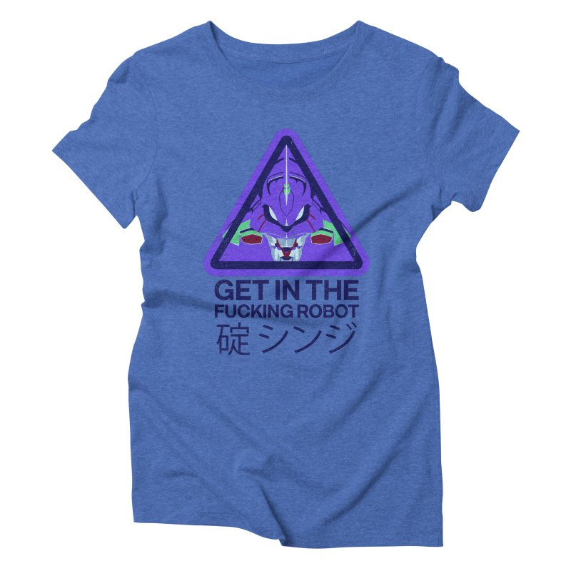 Evangelion Women's Triblend T-Shirt by tulleceria