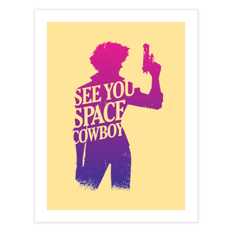 Cowboy Bebop Home Fine Art Print by tulleceria