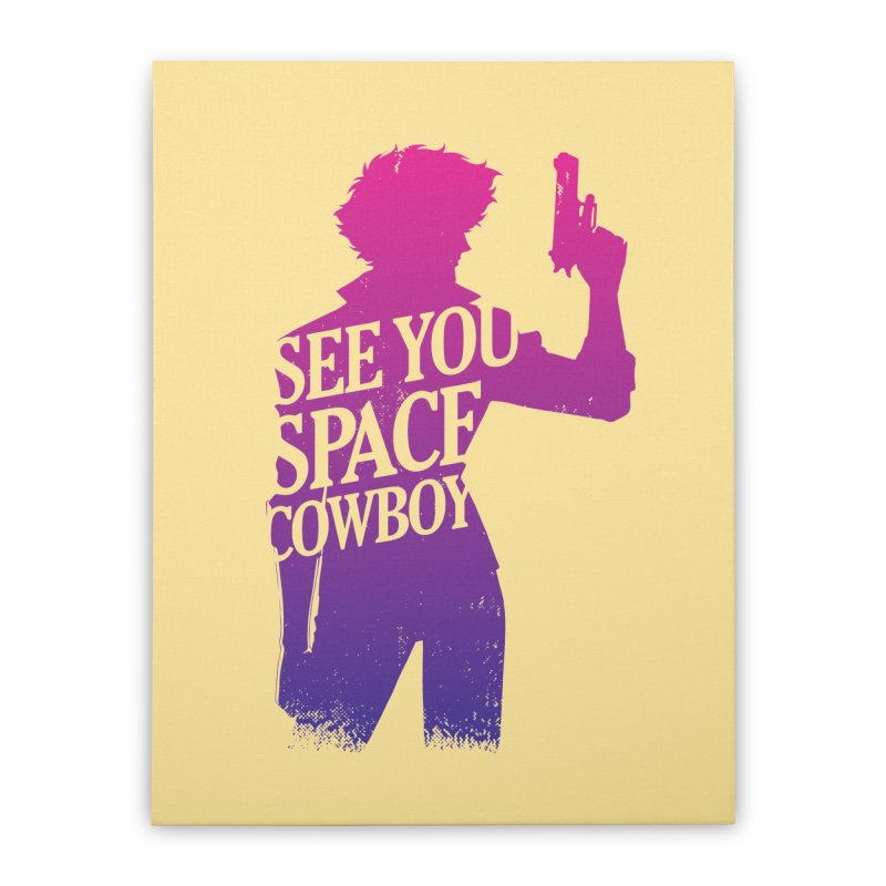 Cowboy Bebop Home Stretched Canvas by tulleceria