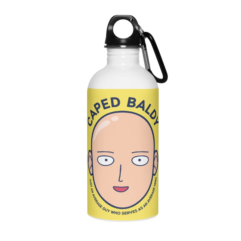 One Punch Man Accessories Water Bottle by tulleceria