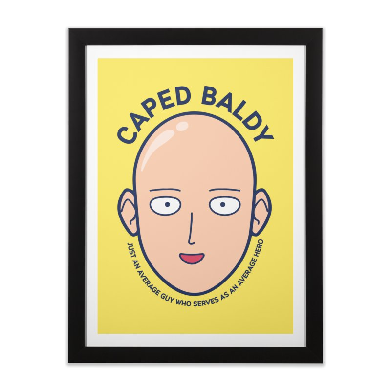 One Punch Man Home Framed Fine Art Print by tulleceria