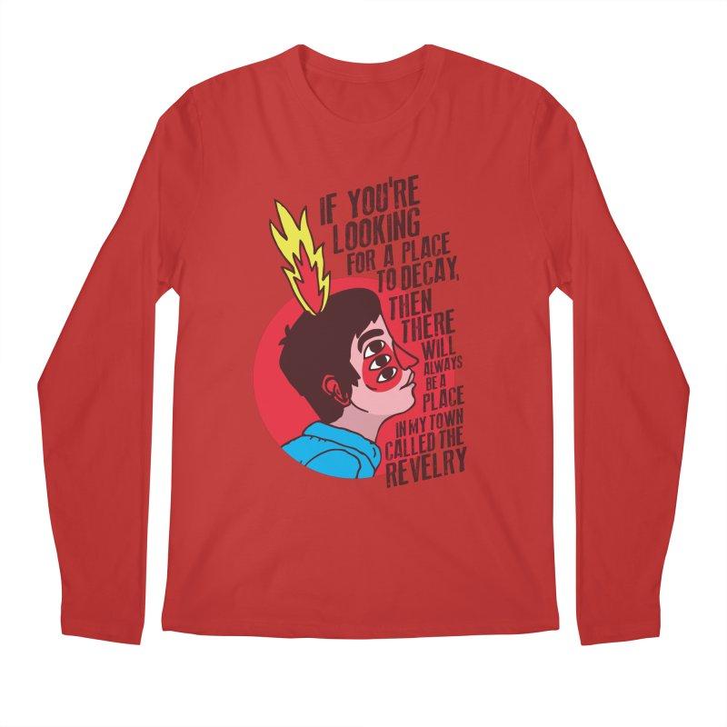 Neck Deep Men's Longsleeve T-Shirt by tulleceria