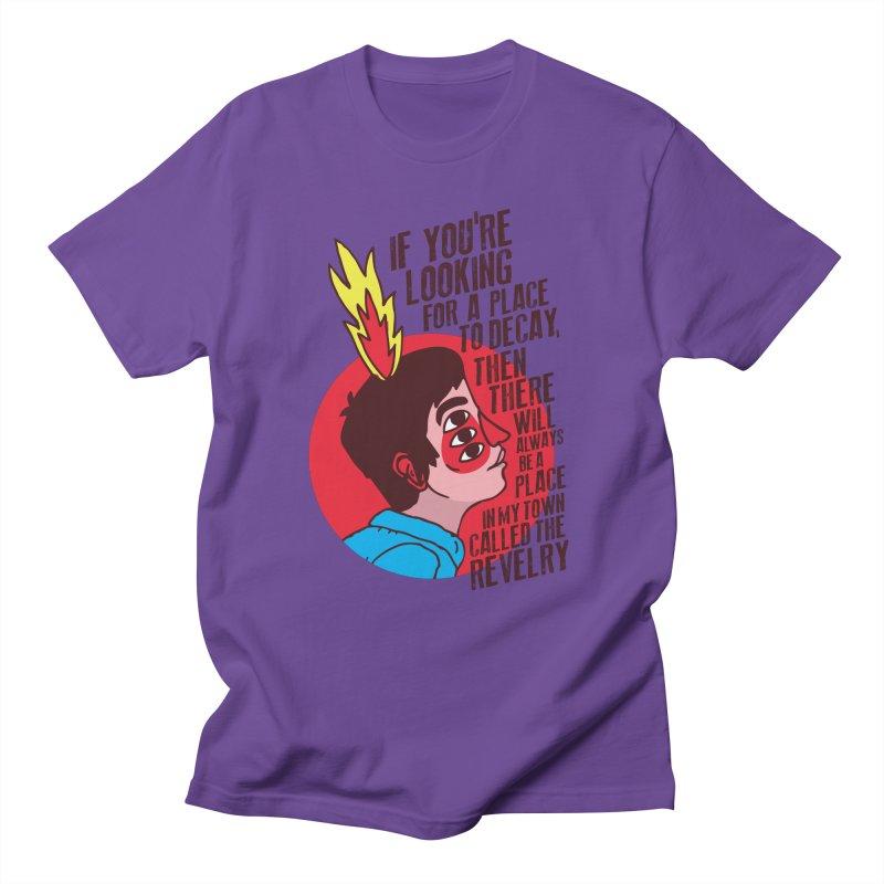 Neck Deep Men's T-Shirt by tulleceria
