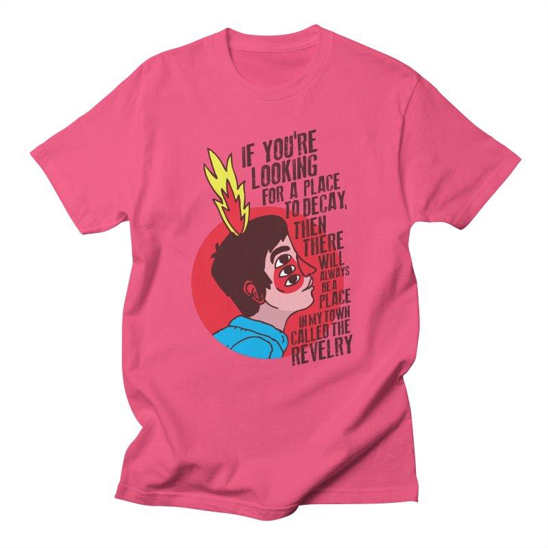 Neck Deep Women's Regular Unisex T-Shirt by tulleceria