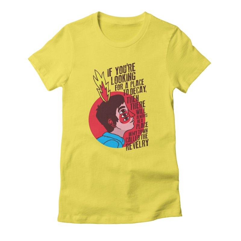 Neck Deep Women's T-Shirt by tulleceria