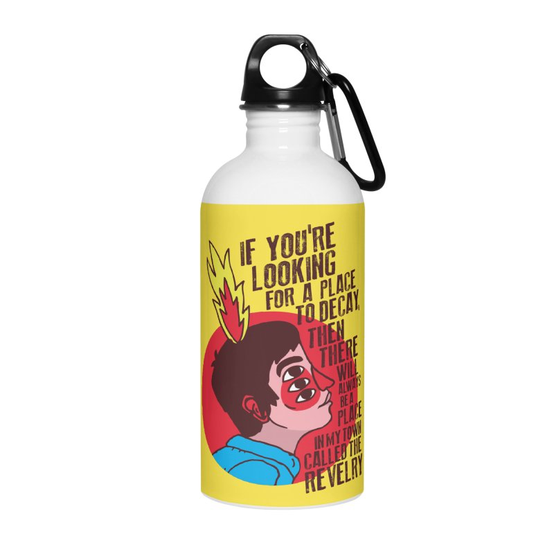 Neck Deep Accessories Water Bottle by tulleceria