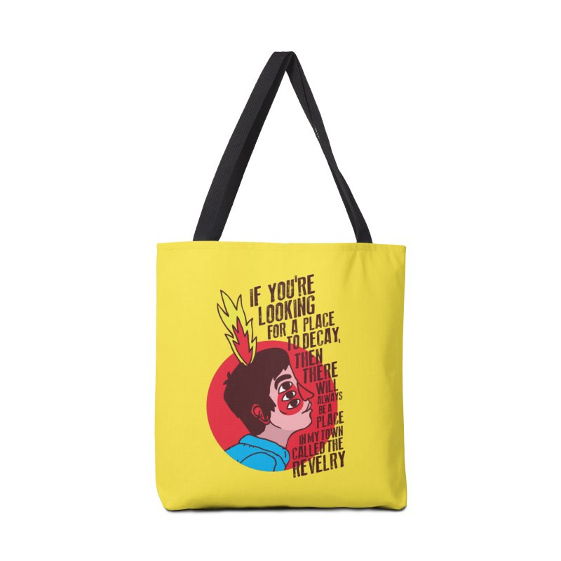 Neck Deep Accessories Tote Bag Bag by tulleceria