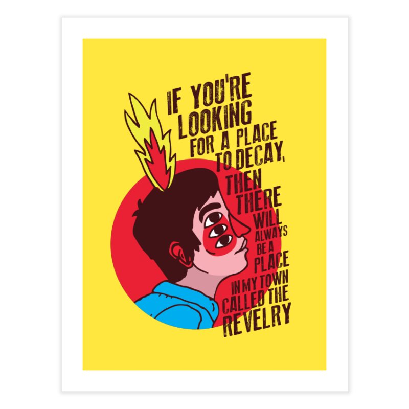 Neck Deep Home Fine Art Print by tulleceria