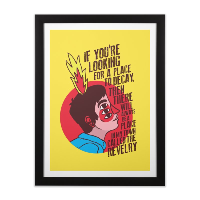 Neck Deep Home Framed Fine Art Print by tulleceria