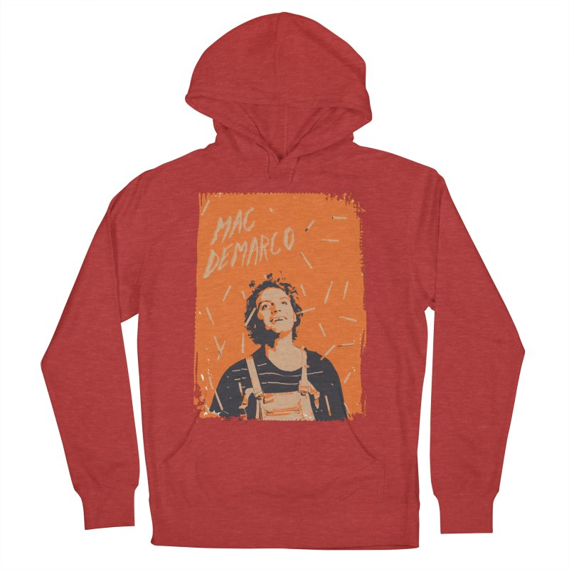 Mac Demarco Women's French Terry Pullover Hoody by tulleceria