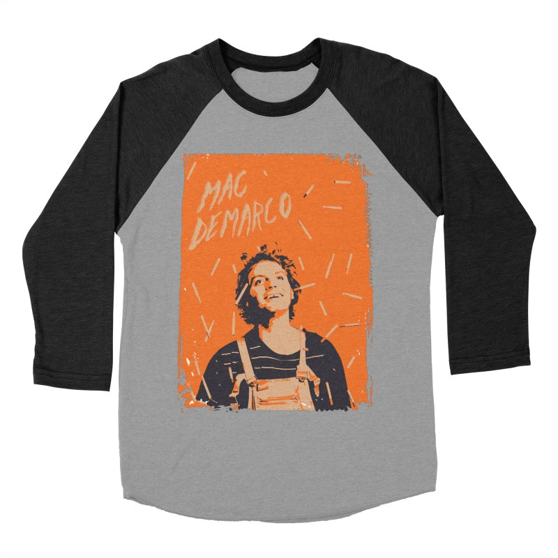 Mac Demarco Women's Baseball Triblend Longsleeve T-Shirt by tulleceria