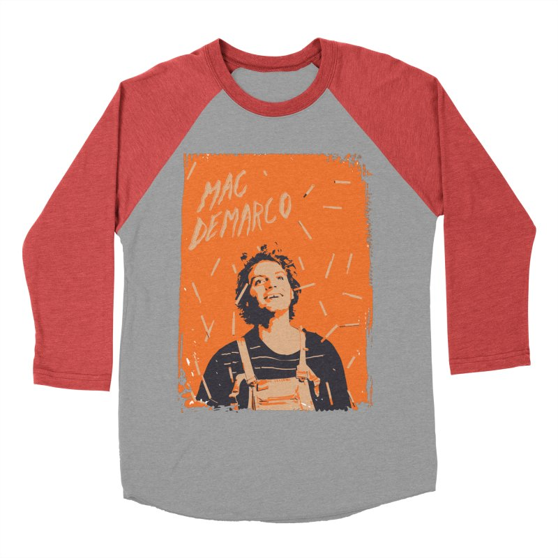 Mac Demarco Men's Baseball Triblend Longsleeve T-Shirt by tulleceria
