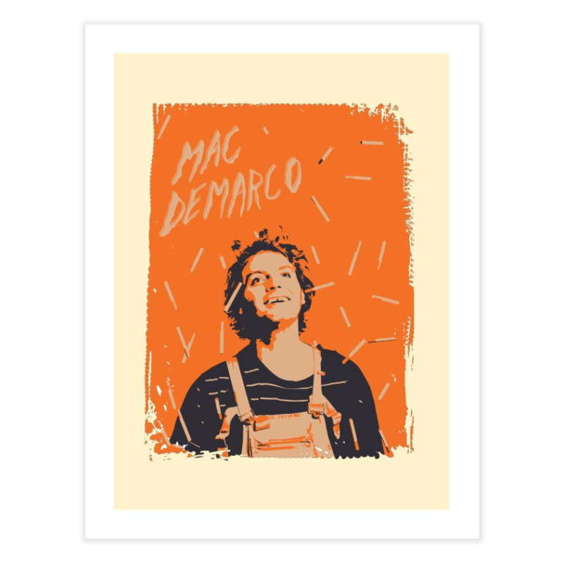 Mac Demarco Home Fine Art Print by tulleceria