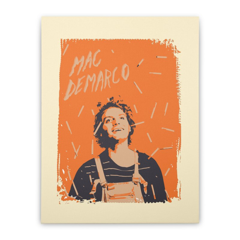 Mac Demarco Home Stretched Canvas by tulleceria