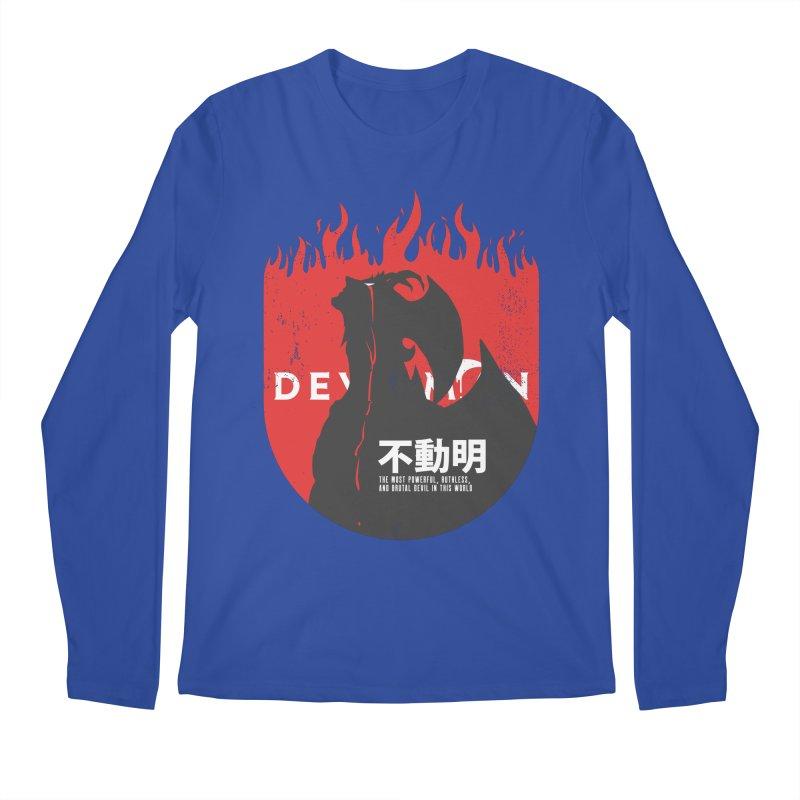 Devilman crybaby Men's Regular Longsleeve T-Shirt by tulleceria