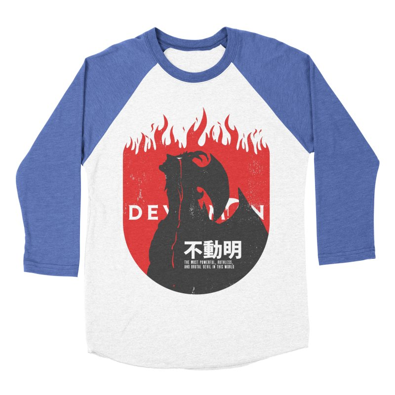 Devilman crybaby Women's Baseball Triblend T-Shirt by tulleceria