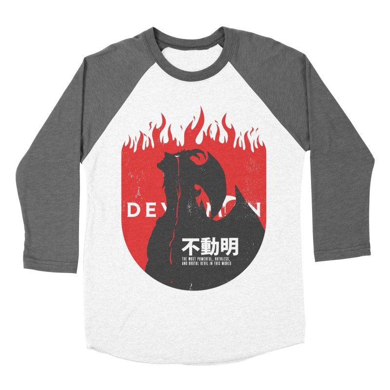Devilman crybaby Men's Baseball Triblend T-Shirt by tulleceria