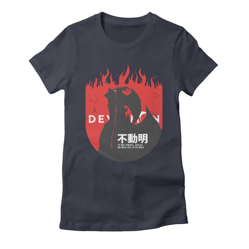 Devilman crybaby Women's Fitted T-Shirt by tulleceria
