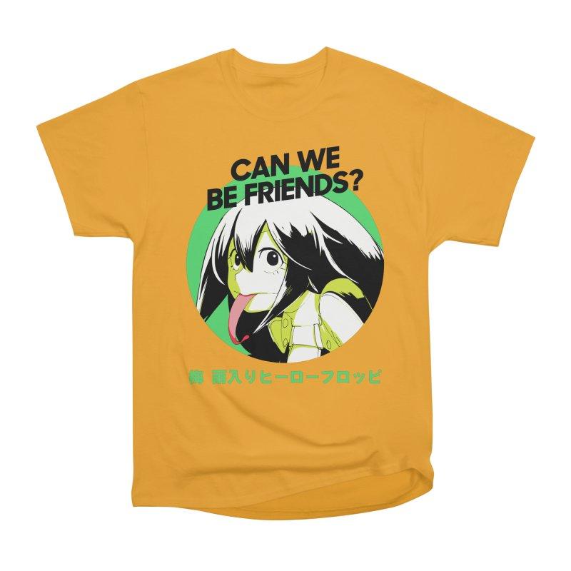 Boku No Hero Froppy Women's Heavyweight Unisex T-Shirt by tulleceria