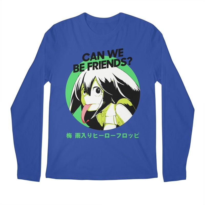 Boku No Hero Froppy Men's Regular Longsleeve T-Shirt by tulleceria