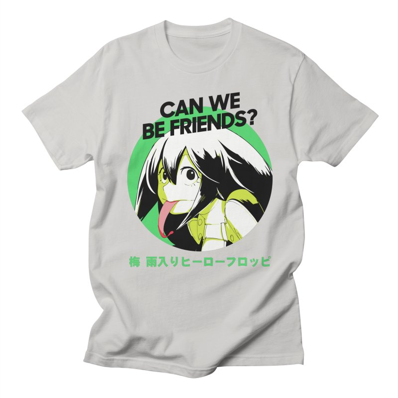 Boku No Hero Froppy Men's Regular T-Shirt by tulleceria