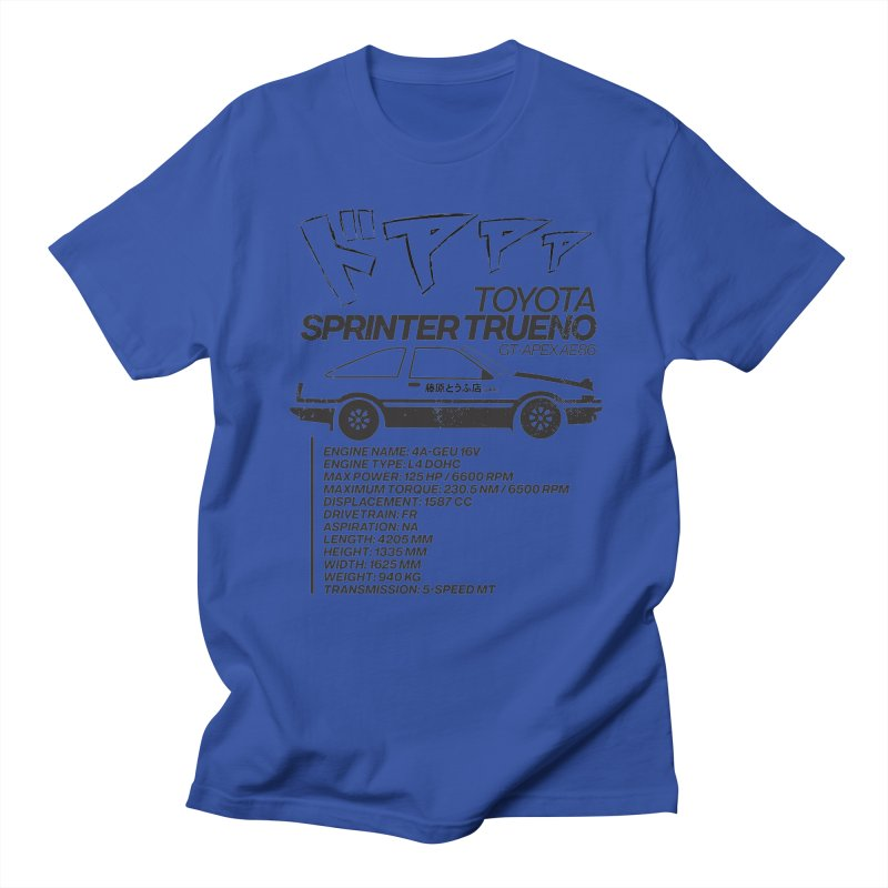 Initial D Women's Regular Unisex T-Shirt by tulleceria