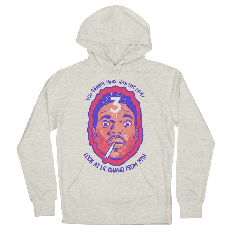 Chance the Rapper Women's French Terry Pullover Hoody by tulleceria