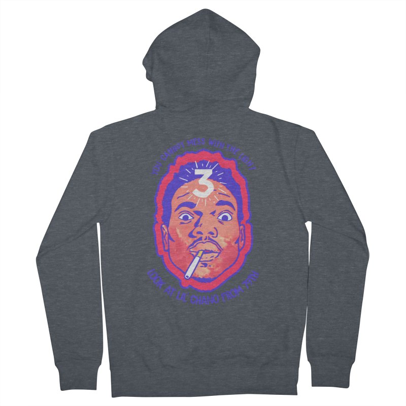 Chance the Rapper Men's French Terry Zip-Up Hoody by tulleceria