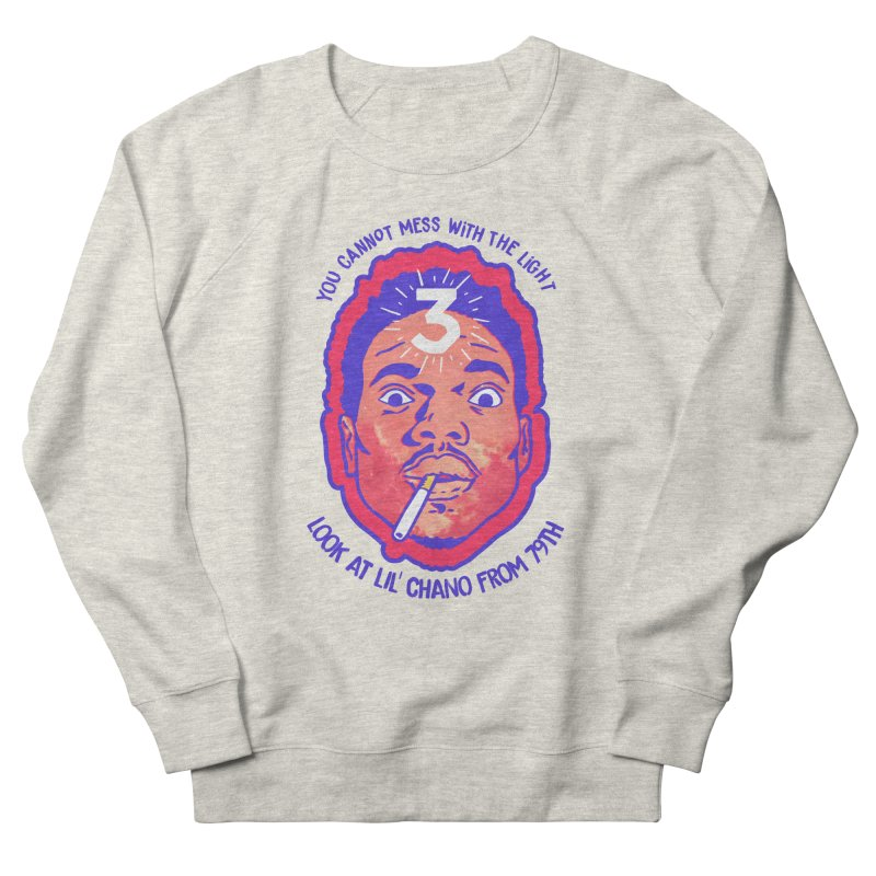 Chance the Rapper Women's French Terry Sweatshirt by tulleceria