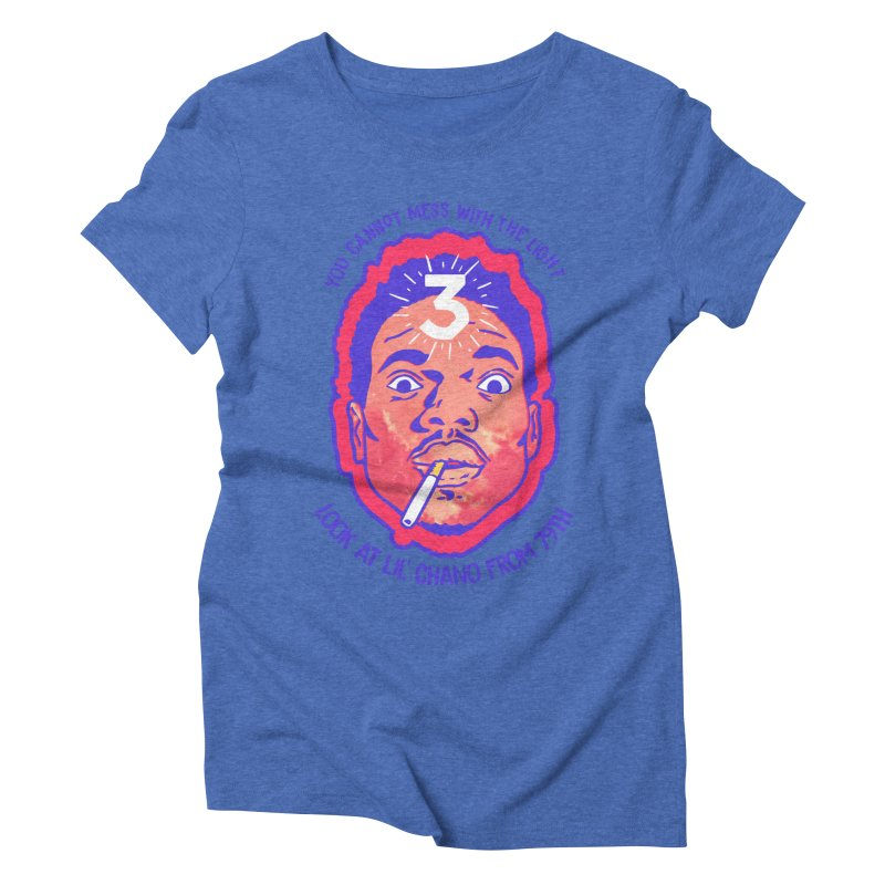 Chance the Rapper Women's Triblend T-Shirt by tulleceria