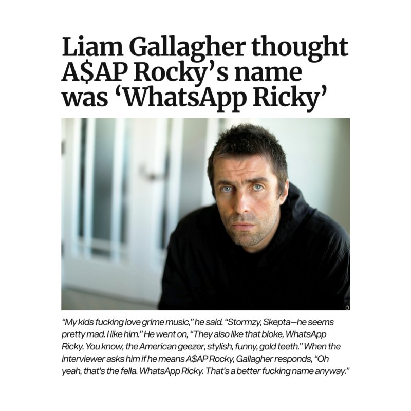 Liam Gallagher by tulleceria