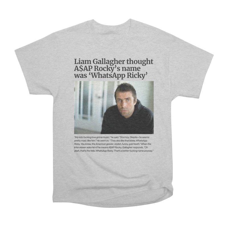 Liam Gallagher Women's Heavyweight Unisex T-Shirt by tulleceria