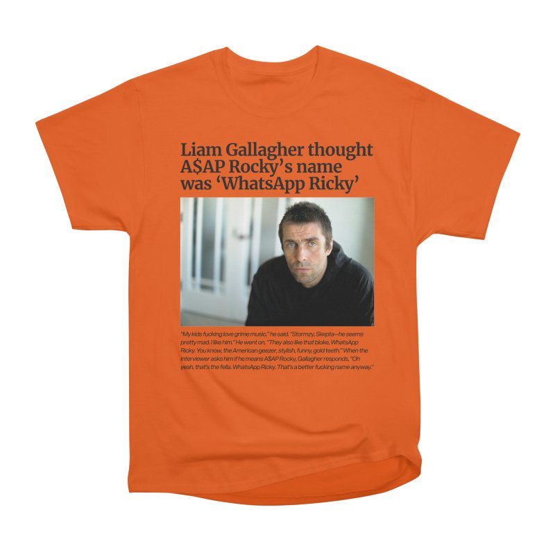 Liam Gallagher Women's Heavyweight Unisex T-Shirt by tulleceria
