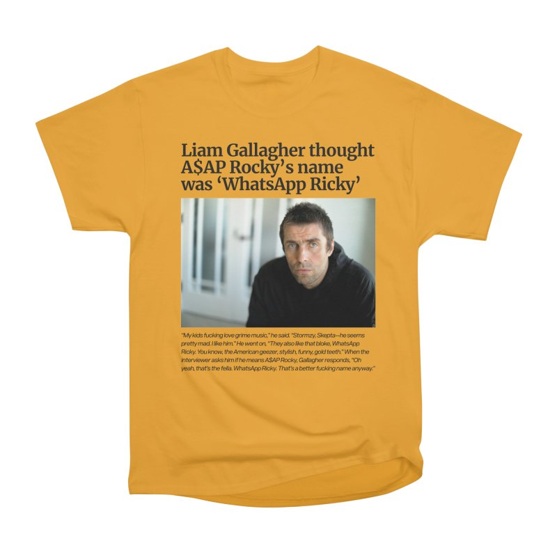 Liam Gallagher Men's Heavyweight T-Shirt by tulleceria