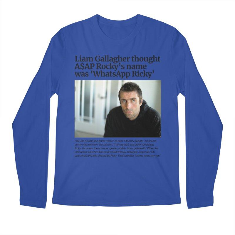Liam Gallagher Men's Regular Longsleeve T-Shirt by tulleceria