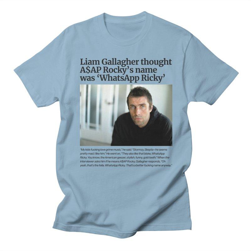 Liam Gallagher Men's Regular T-Shirt by tulleceria