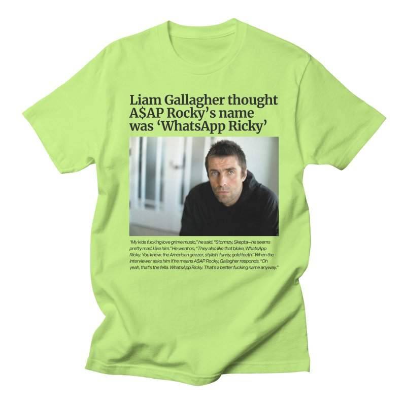 Liam Gallagher Women's Unisex T-Shirt by tulleceria