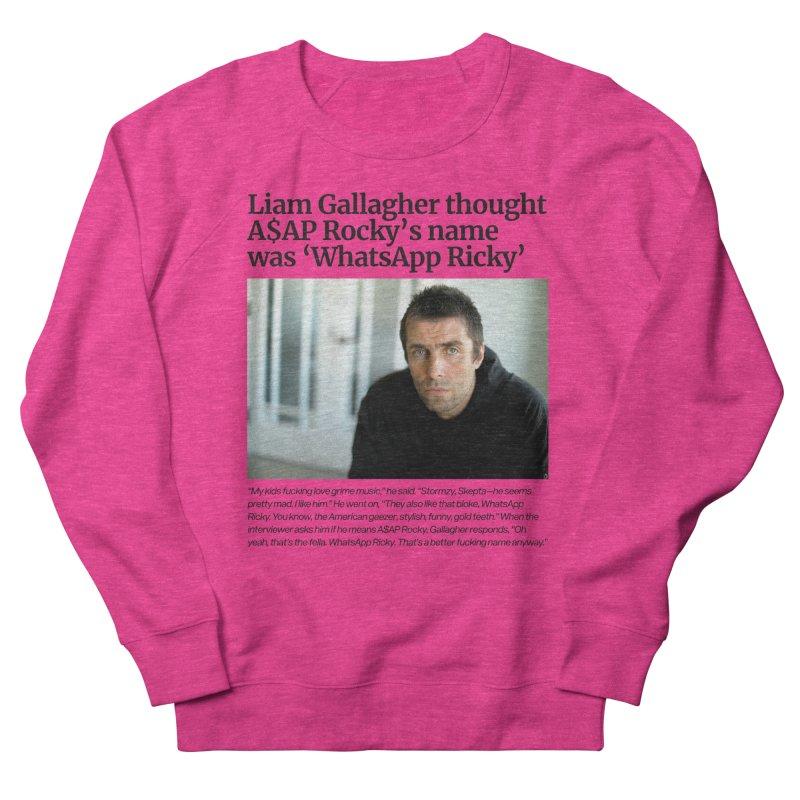 Liam Gallagher Women's Sweatshirt by tulleceria
